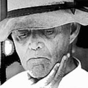 Blind Man Juarez Chihuahua Mexico 1968 Poster