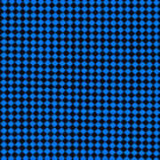 Blue And Black Checkered Pattern Cloth Background Poster