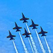 Blue Angel Team Poster