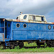 Blue Caboose Poster