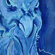 Blue Chicken Poster