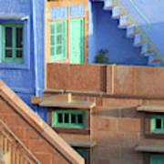Blue City, Jodhpur, India Poster