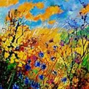 Blue Cornflowers 450408 Poster