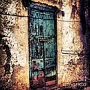 Blue Door Poster by H Hoffman