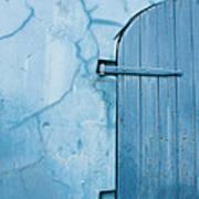 Blue Door In St. Thomas Virgin Islands Poster