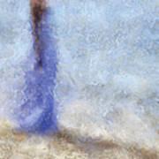 Blue Dream. Impressionism Poster