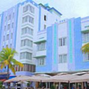 Blue Hotels Poster
