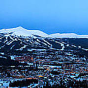 Blue Hour In Breckenridge Poster