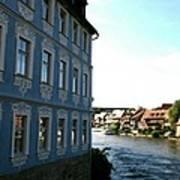 Blue House - Bamberg Poster