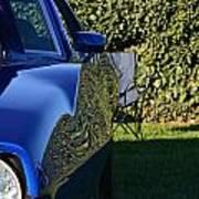 Blue Javelin Fender Poster