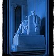 Blue Lincoln Poster