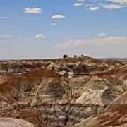 Blue Mesa - Painted Desert Poster