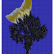 Blue Moon Over Palmetto  Poster