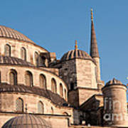 Blue Mosque Domes 08 Poster