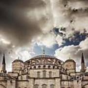 Blue Mosque Istanbul Poster