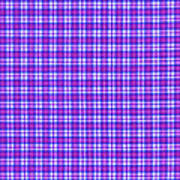 Blue Pink And White Plaid Cloth Background Poster