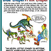 Blue Pink Counseling Poster Poster