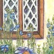 Blue Poppies Of Luss Poster