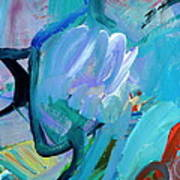 Blue Radiance  Poster
