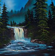 Mountain Falls Poster