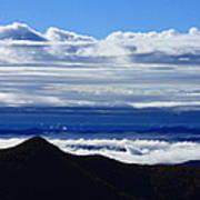 Blue Ridge Fog-north Carolina Poster