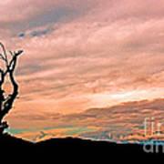 Blue Ridge Mountain Sunrise Panoramic  Poster
