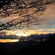 Blue Ridge Parkway Sunrise Poster