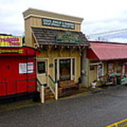 Blue Ridge Store Fronts Poster