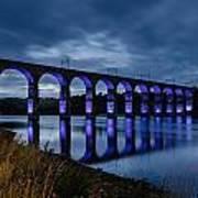Blue Royal Border Bridge Poster