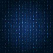 Blue Shining Pattern. Vector Background Poster