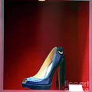 Blue Shoe Poster