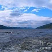 Blue Skies At Loch Ness Poster