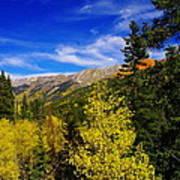Blue Skies In Colorado Poster