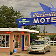 Blue Swallow Motel Poster