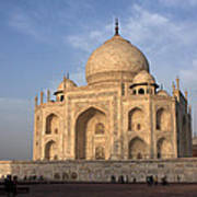 Taj Mahal In Evening Light Poster