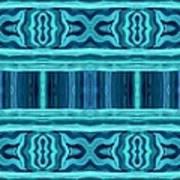 Blue Teal Dreams Poster
