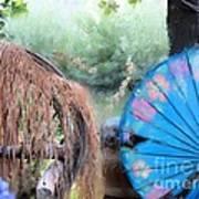 Blue Umbrella Poster
