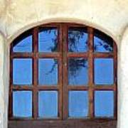 Blue Window San Miguel Poster