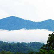 Blueridge Mountain Splendor Poster by Ella Char