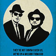 Blues Brothers Poster Poster
