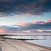 Blyth Harbour At Sunset Poster