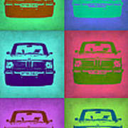 Bmw 2002 Pop Art 2 Poster by Naxart Studio