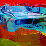 Bmw Laguna Seca Poster