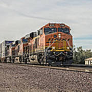 Bnsf 8145 Poster