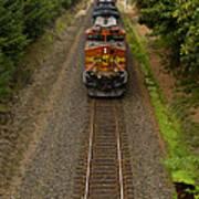 Bnsf Train 789 F Poster