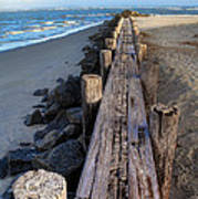 Boardwalk - Charleston Sc Poster