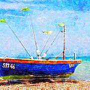 Boat Ashore Poster