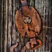 Boat - Block And Tackle Poster