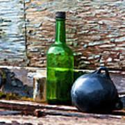 Boat Deck Still Life Poster