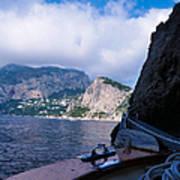 Boat Ride To Capri Poster